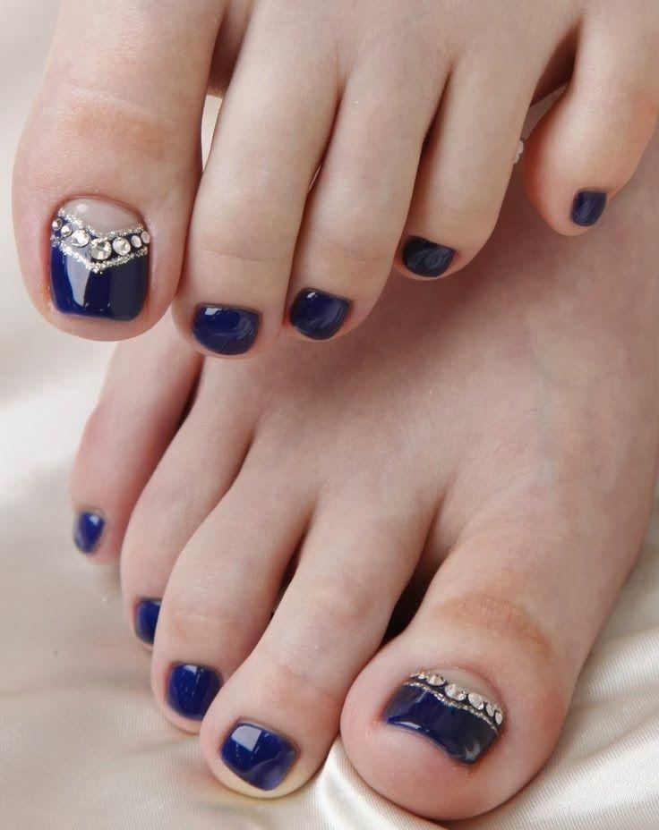 Diseño y decoración de uñas-unhas-nails para tus pies 2016 | nails ...