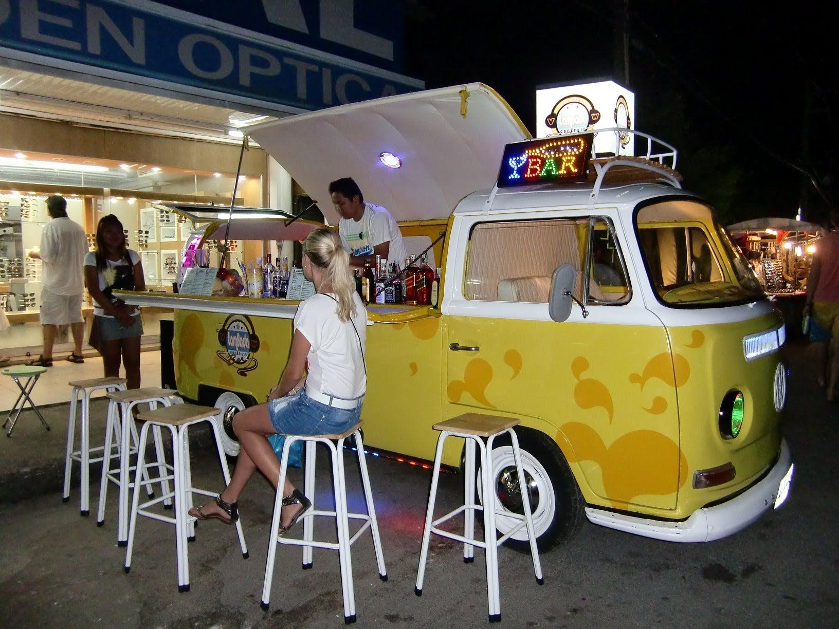 Vw t2 tuning volkswagen bulli transporter bus bar mobile for Food bar 36 cafe