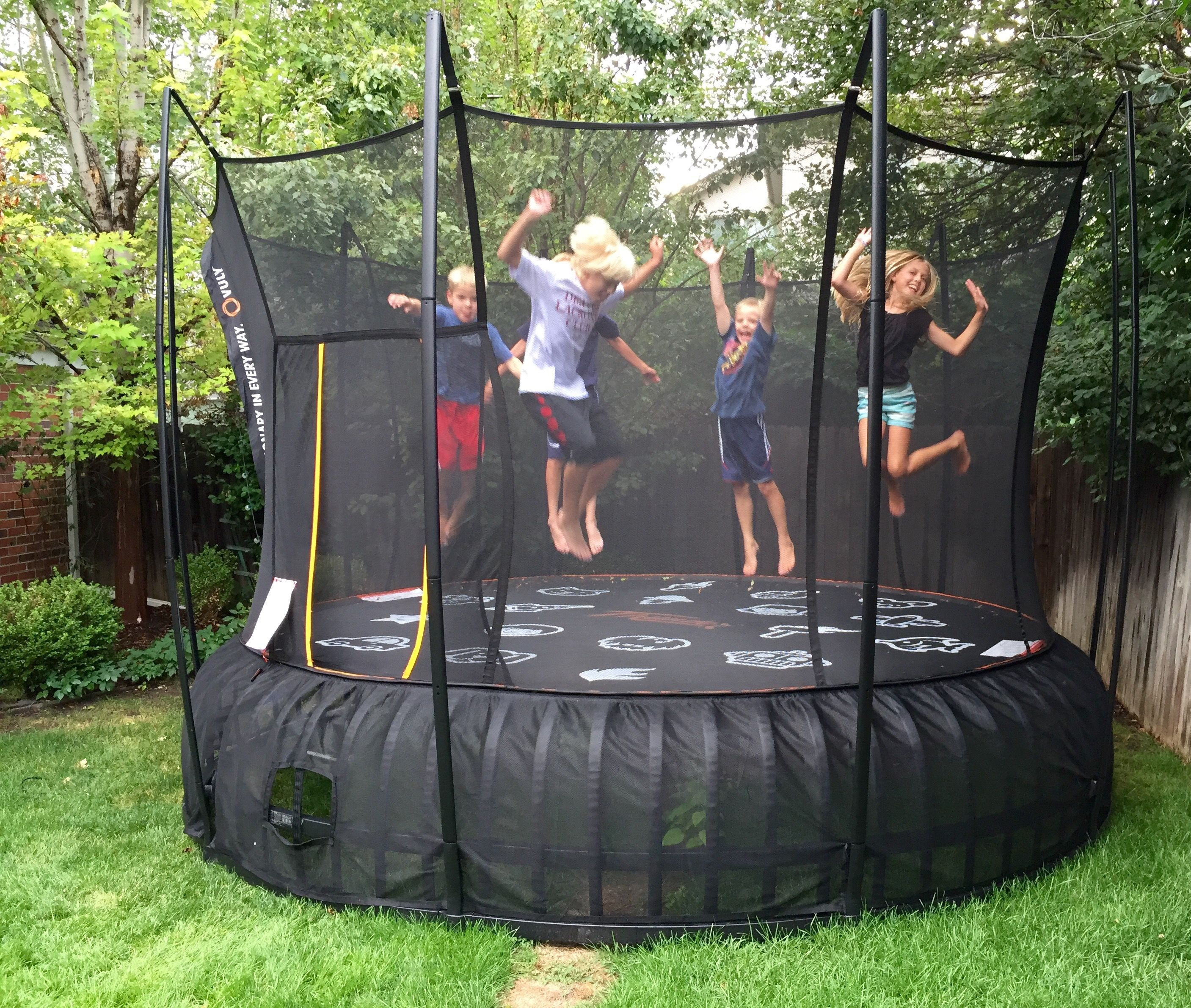 Vuly Trampolines Has The Strongest Spring Free Design. The