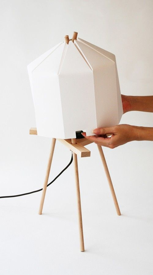 Paper Lamp is a minimalist light created by Hong Kong-based design firm Milk Design Limited. Inspired by origami, Paper Lamp is an incredibl...