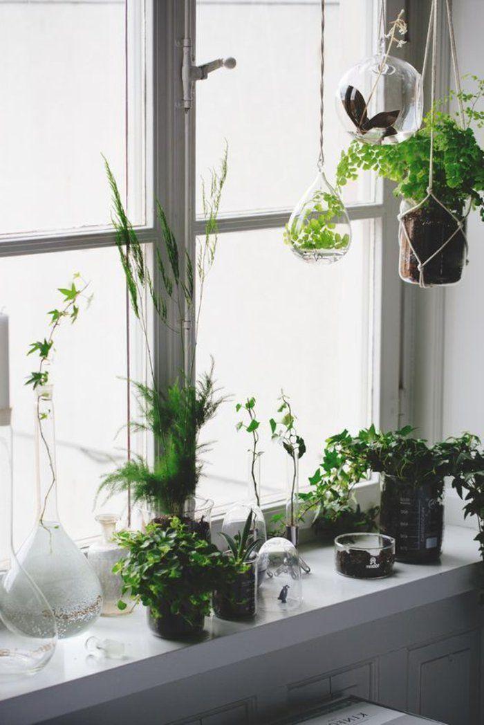 Fensterbank Dekoration – 57 Ideen, wie Sie das Potenzial der Fensterbank entdecken