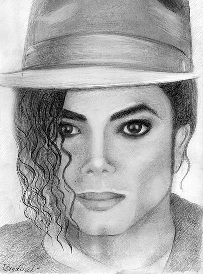 Michael Jackson Pencil Drawing by Inna Bredereck | WOW ...