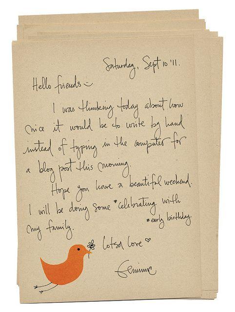 Letter  Hand Written Handwritten Letters And Handwriting