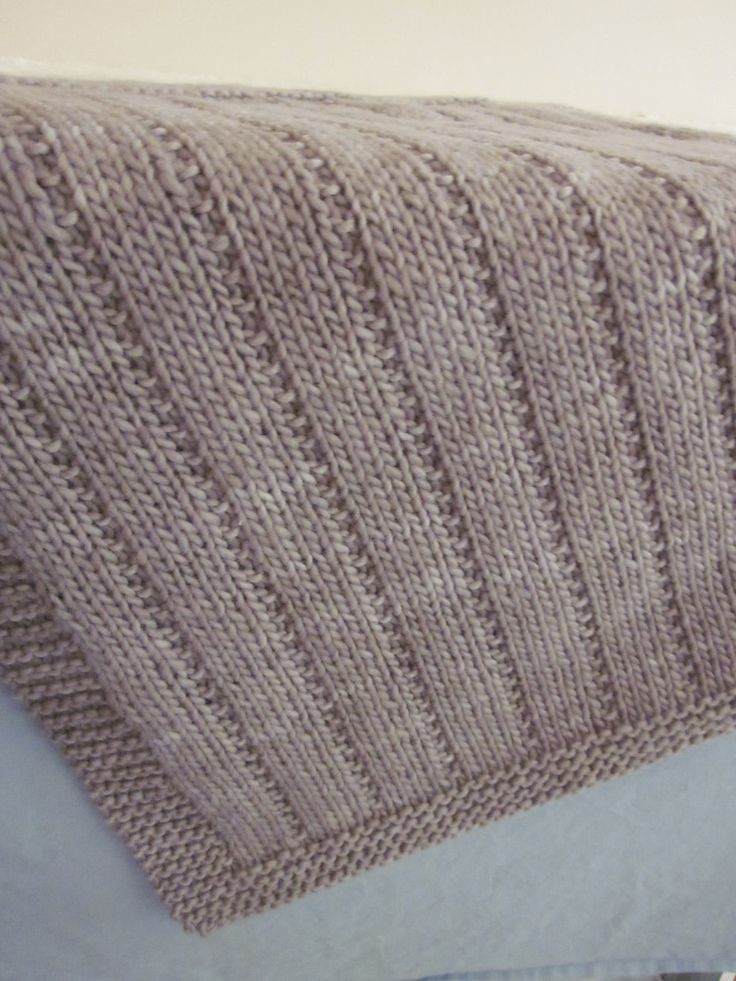 Newborn baby blanket by altadena green free knitted