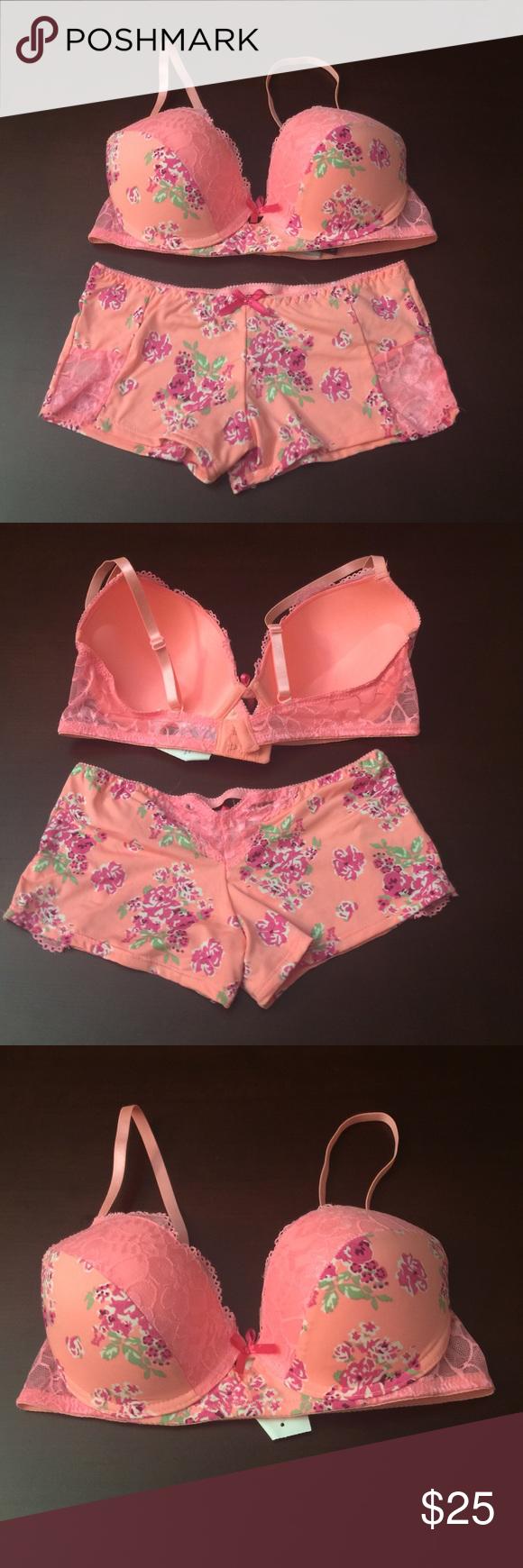 022a0e0c02b Kiss & Tell Bra and Panty Set Brand new small size underwear and 34 D size  bra Kiss & Tell Intimates Intimates & Sleepwear
