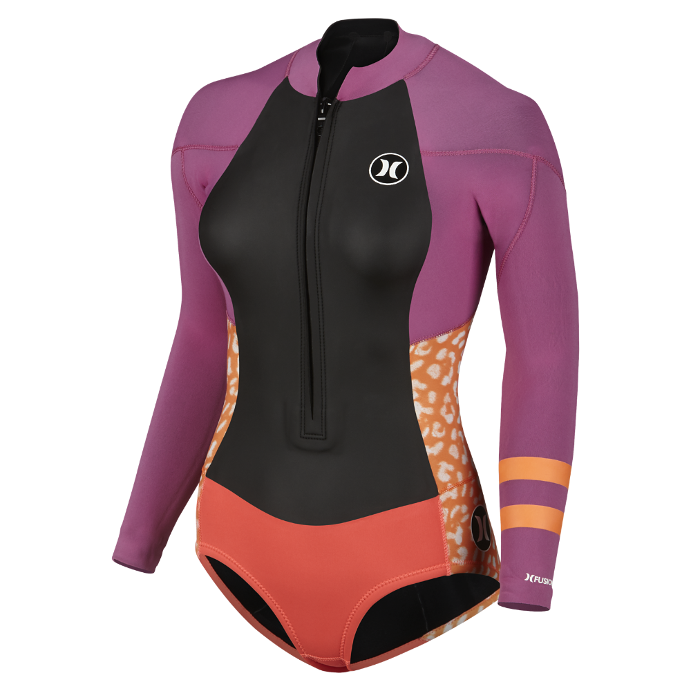 33b05defb9 Hurley Fusion 202 Front Zip Springsuit Women s Wetsuit Size 12 (Pink) -  Clearance Sale