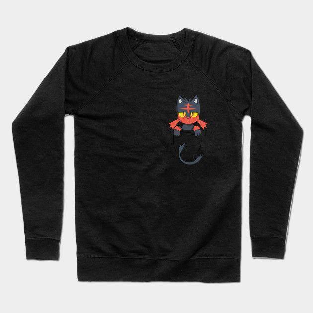 Kitty In Your Pocket Crewneck Sweatshirt