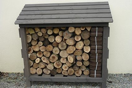 Superb Original Outdoor Log Store For Your Timber From Bennett Wood Design