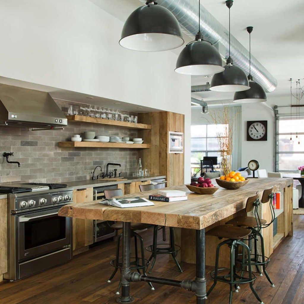 10 Gorgeous Industrial Loft Decor With Images Industrial