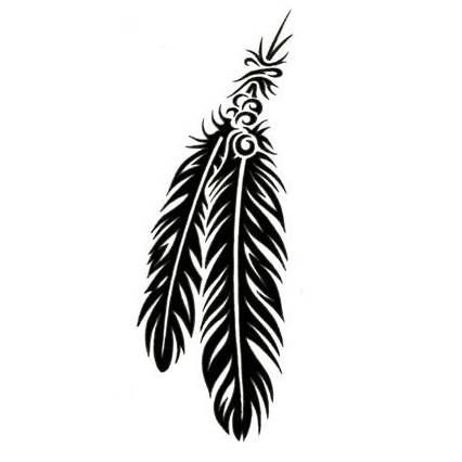 Native American Armband Tattoos Native American Tattoos Tattoo Designs Gallery Unique Pictur Indian Feather Tattoos Feather Tattoos Tribal Feather Tattoos