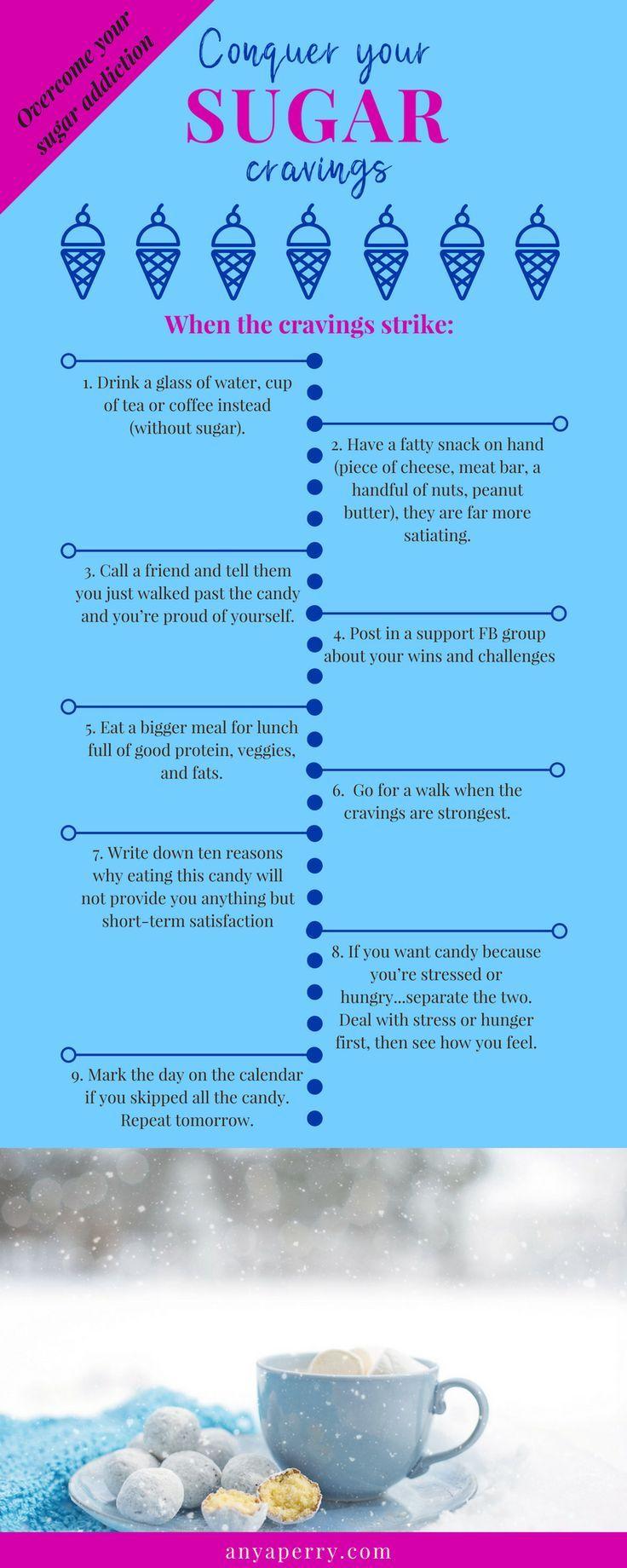 Zuckersucht in 3 einfachen Schritten überwinden   – Anyaperry.com | Blog