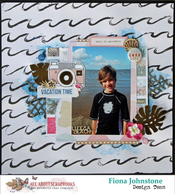 All About Scrapbooks Australia Vacation Time With Crate Paper Oasis