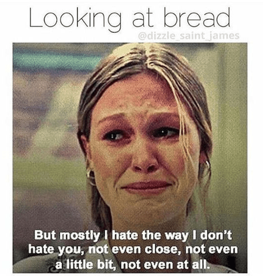 21 Memes And Tweets For Anyone Who S In A Relationship With Carbs Funny Diet Memes Diet Motivation Funny Diet Meme