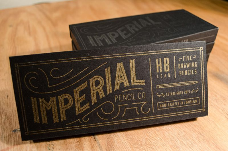 Winston Scully Gives Pencil Packaging A Facelift