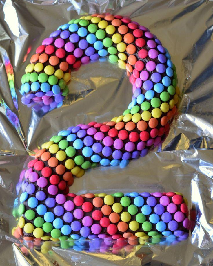 Le Raimbow Cake Simple Et Coloré Gateau Anniversaire 2 Ans