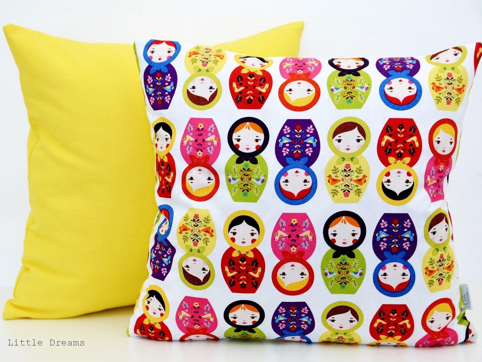 Poszewka dekoracyjna Cute pillows, Matryoshka doll