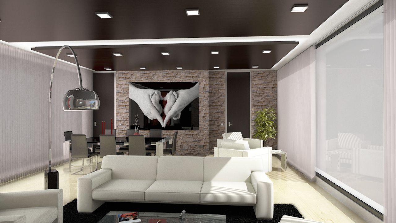 Alfombra salon moderno good sofs energa oscura salon - Alfombra salon moderno ...
