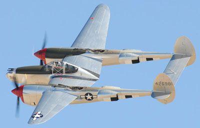 P 38 Lightning Specs