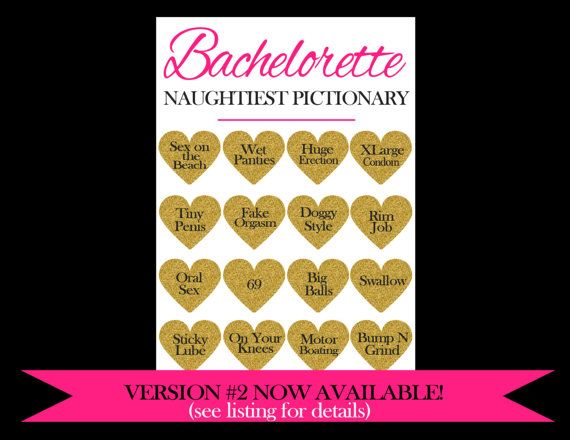 Bachelorette Pictionary