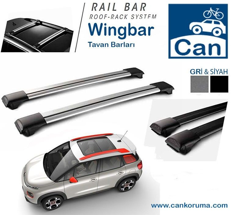 Citroën C3 Aircross Roof Rack and Cross Bar