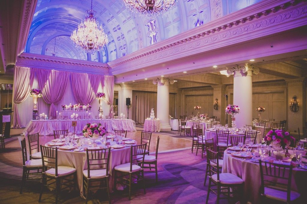 Elegant Wedding At The King Edward Hotel Vanity Ballroom From Rebecca Chan Weddings And Events