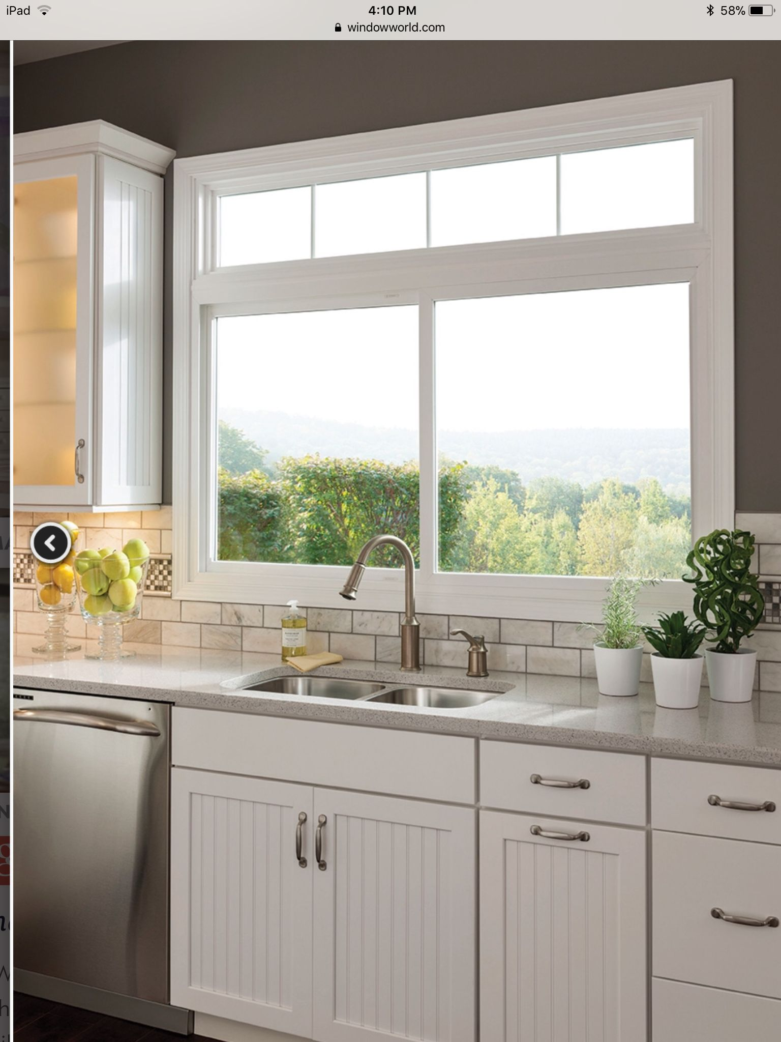 Sliding window over kitchen sink  pin by b j dunn on house build  pinterest  house building and house