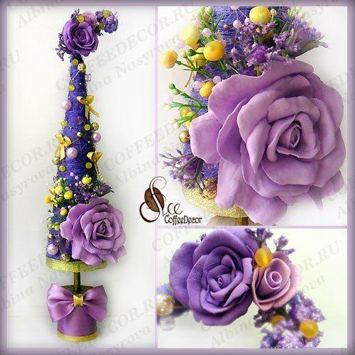 Piel de sisal con flores de foryamin