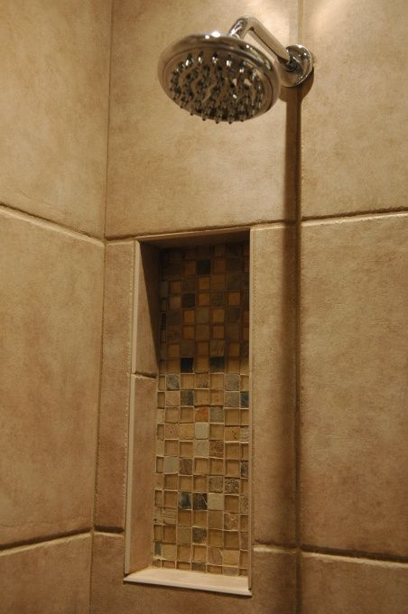 running the tile all the way to the ceiling 4 recessed lighting