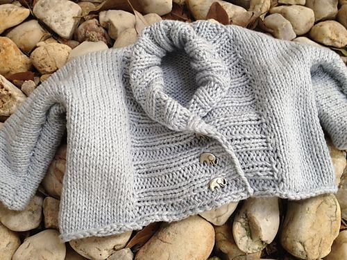 Ribbed Baby Jacket pattern by Debbie Bliss | Baby sweaters ...