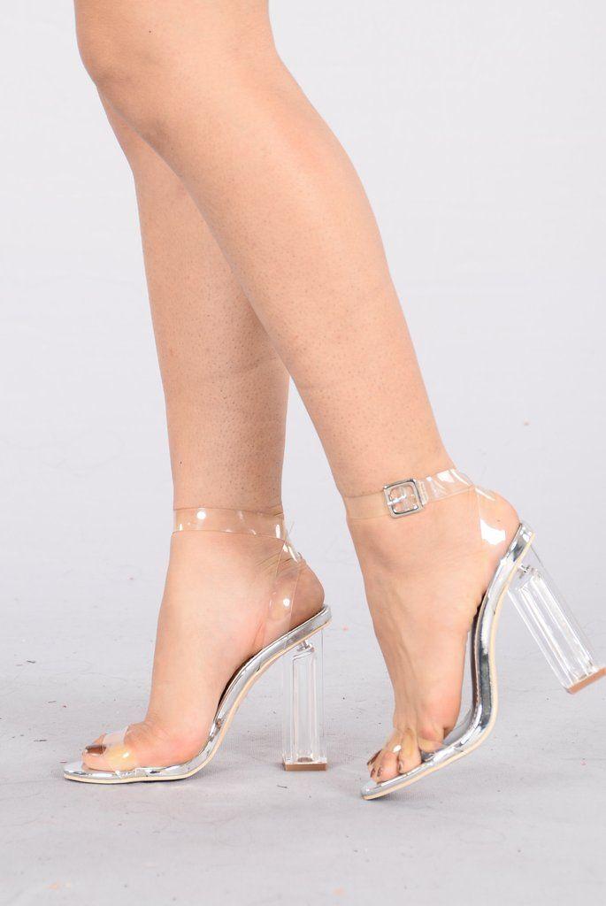 7f3b67df246b The Glass Slipper - Silver
