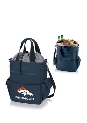 Oniva Nfl Denver Broncos Activo Cooler Tote - Navy With Grey