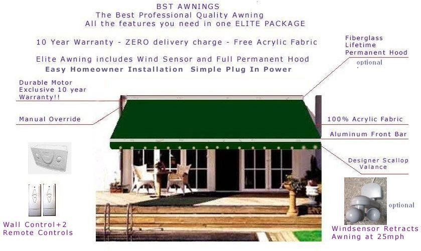 deck awnings   ... Motorized Awnings: motorized ...