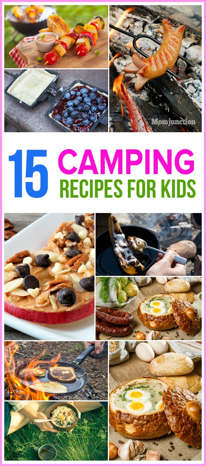 Photo of 15 Quick And Easy Camping Recipes For Kids