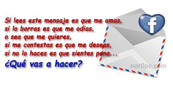 Mensajes Para Publicar En Tu Página Y Pegar En El Muro De Facebook Mensajes Frases De Amor Frases Bonitas
