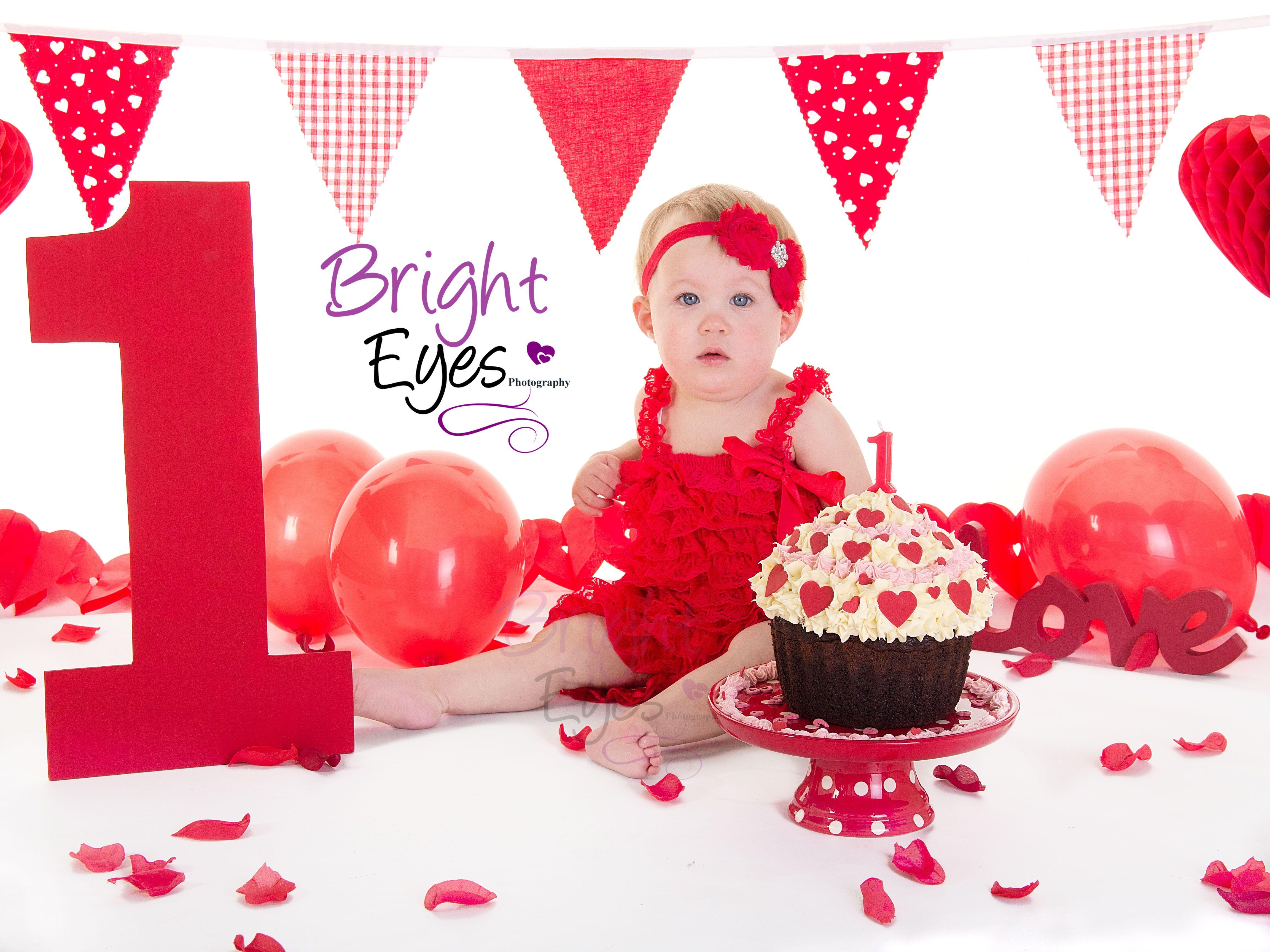 Ein weiteres Bild von valentines day cake smash Valentines Day Cake Smash