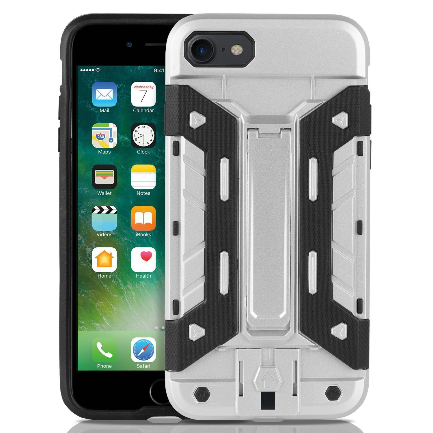 iPhone 7 & iPhone 8 Case w Card Slot Wallet Holder