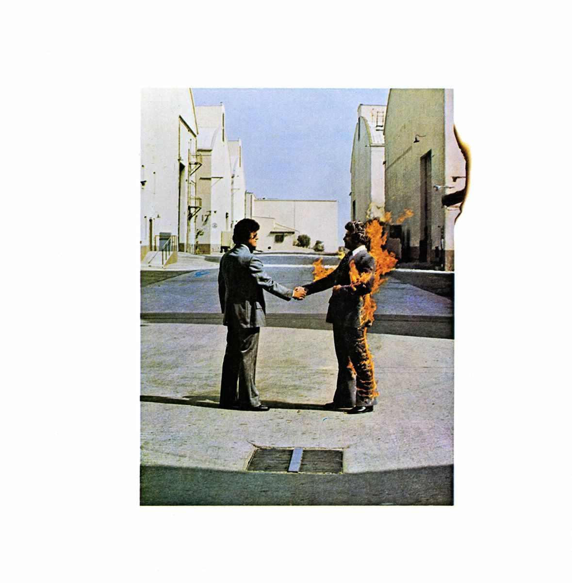 Pink Floyd - Wish You Were Here 1975   Álbuns pink floyd