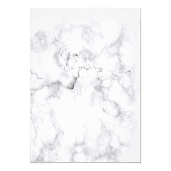 Modern Floral White Marble Photo Sweet 16 Party In