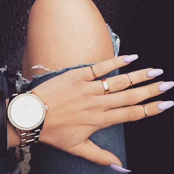 12 Dead Serious Ways to Wear Coffin Nails   Coffin nails