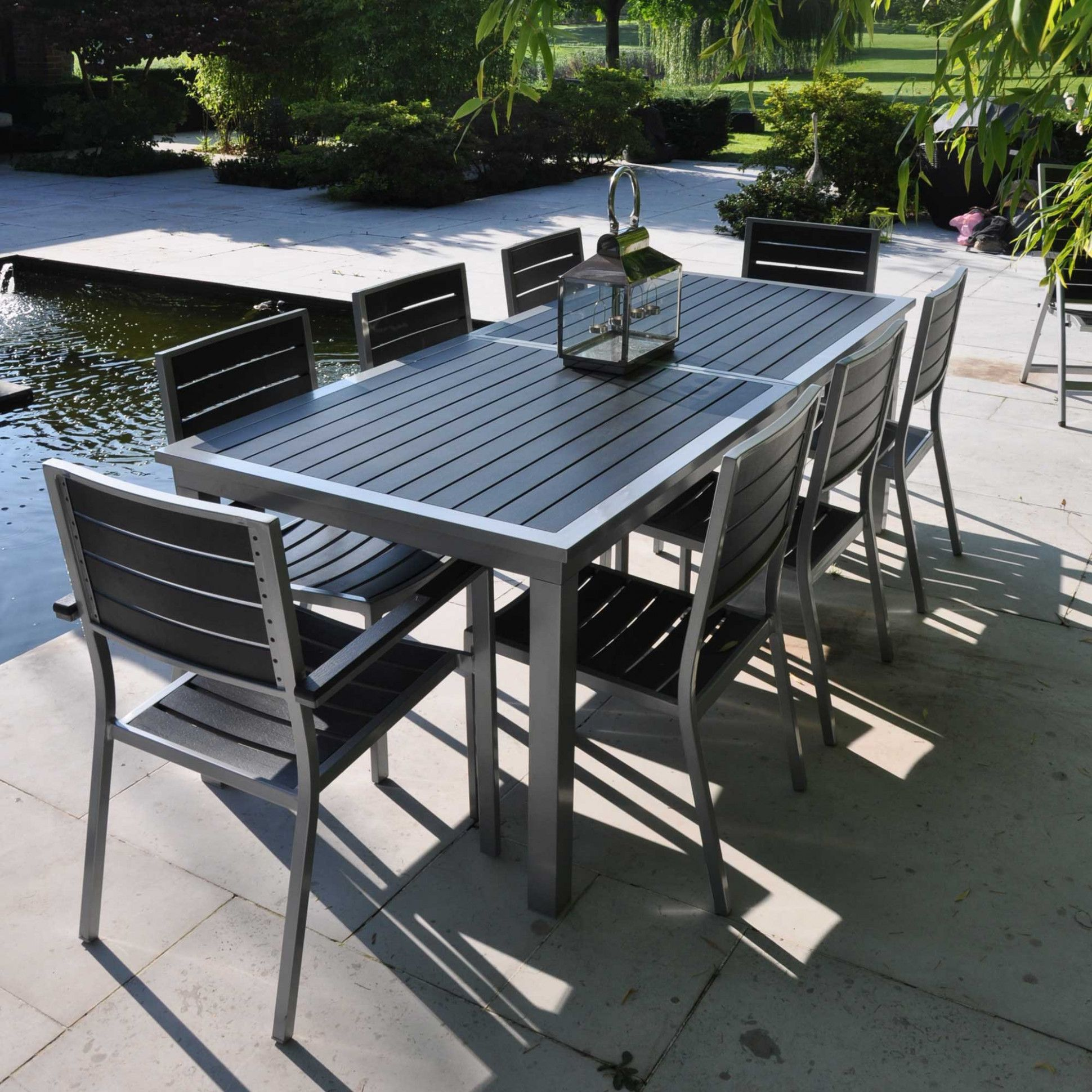 Solde Table De Jardin In 2020 Outdoor Furniture Outdoor Decor