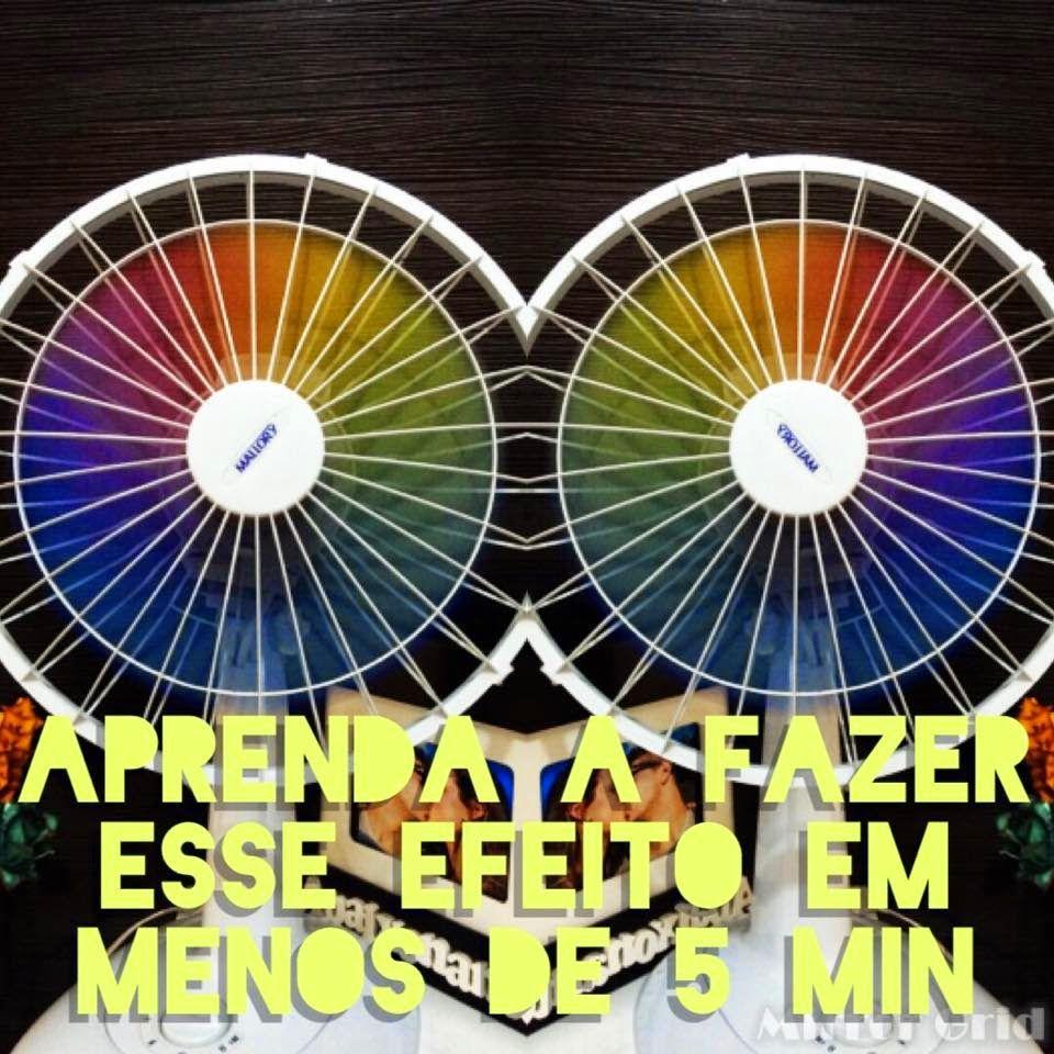Diy: Ventilador arco-íris ♥    por Bruna Panizo | Moda Ativa       - http://modatrade.com.br/diy-ventilador-arco-ris-ao