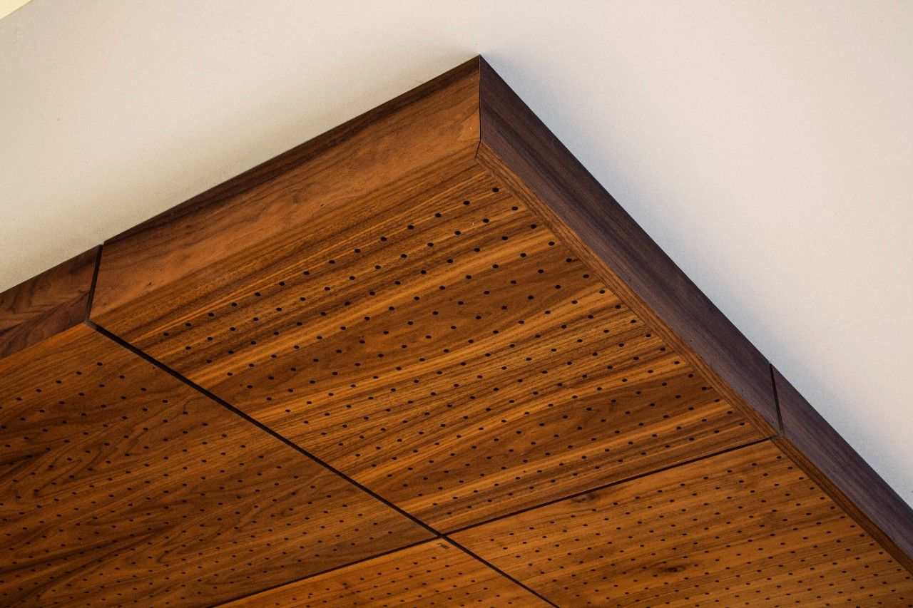 True™ Wood Ceiling Panels | Wood Veneer Ceiling Panels ...