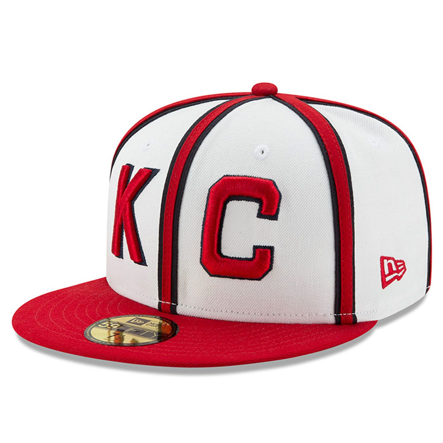 Men S Kansas City Monarchs New Era White Turn Back The Clock 59fifty Fitted Hat Fitted Hats Hats For Men Kansas