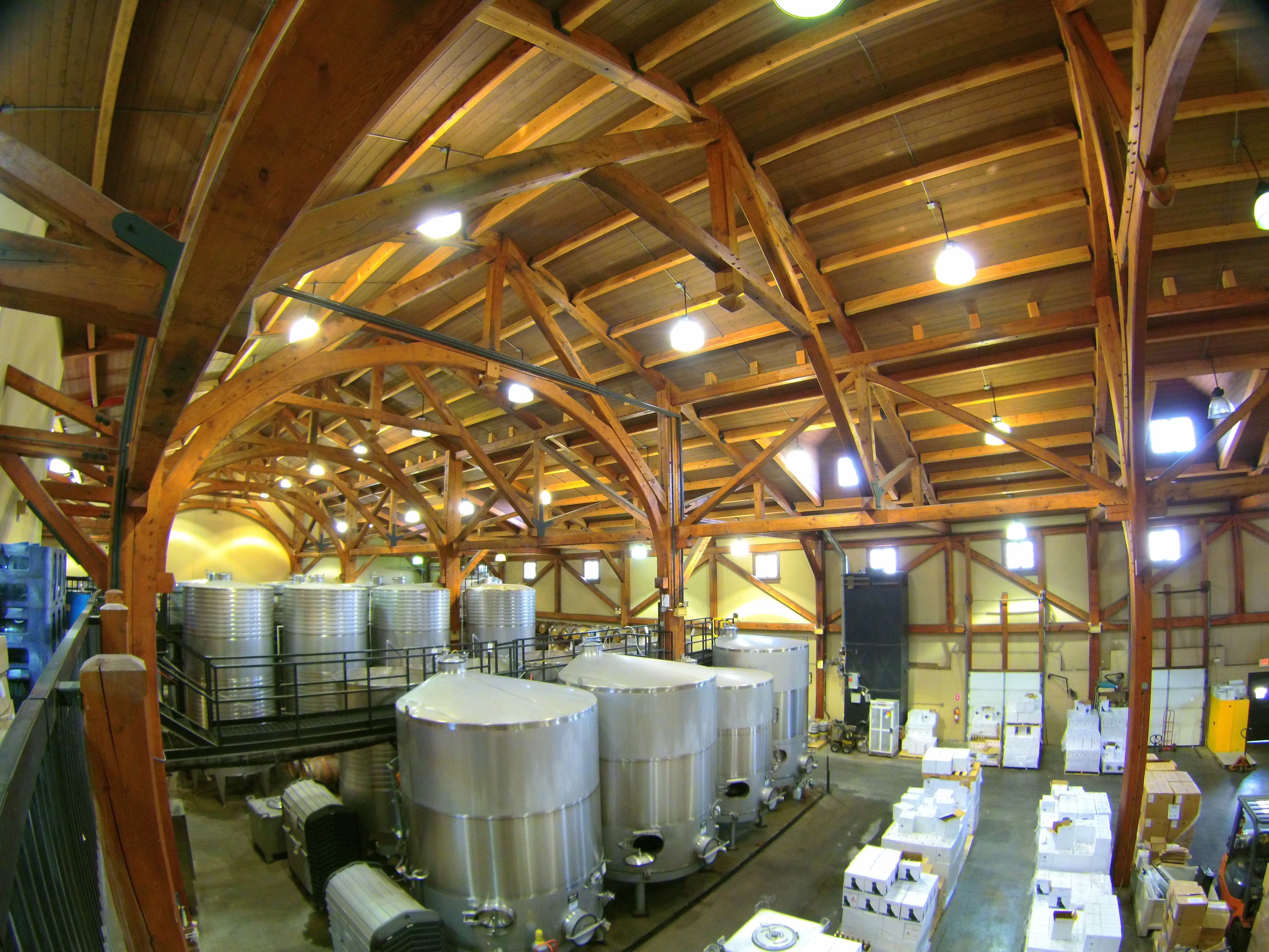 beautiful photo of our timber frame wine cellar where all of - Wine Picture Frames