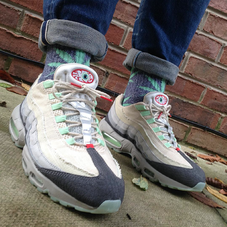 "the latest 05629 3c55d Nike Air Max 95 ""Halloween"""