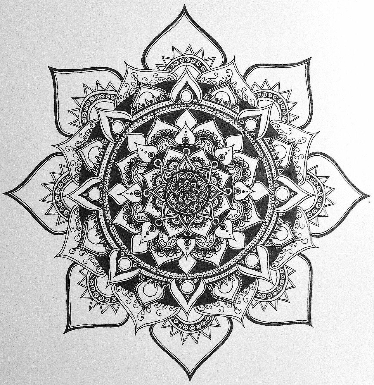 Mandala Tattoo Design On Pinterest: Mandala Designs, Harborinthestorm: This May Or May Not Be