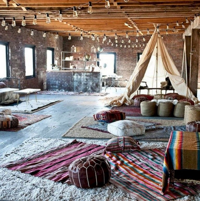 32+ Marvelous Bohemian Living Room Ideas images