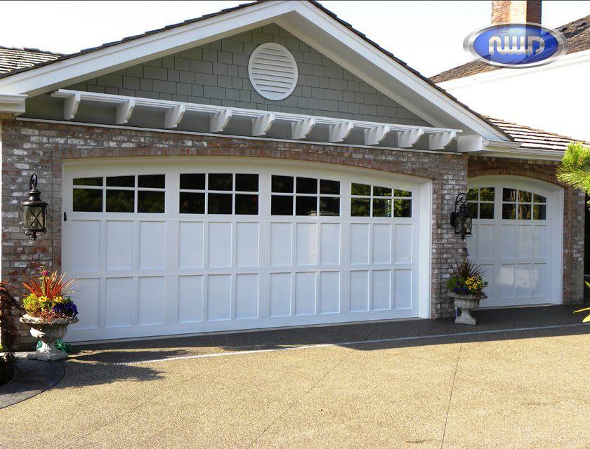 Infinity Classic Model I206c Standard White Garage Doors Garage Doors Garage Door Design Unique Garage Doors