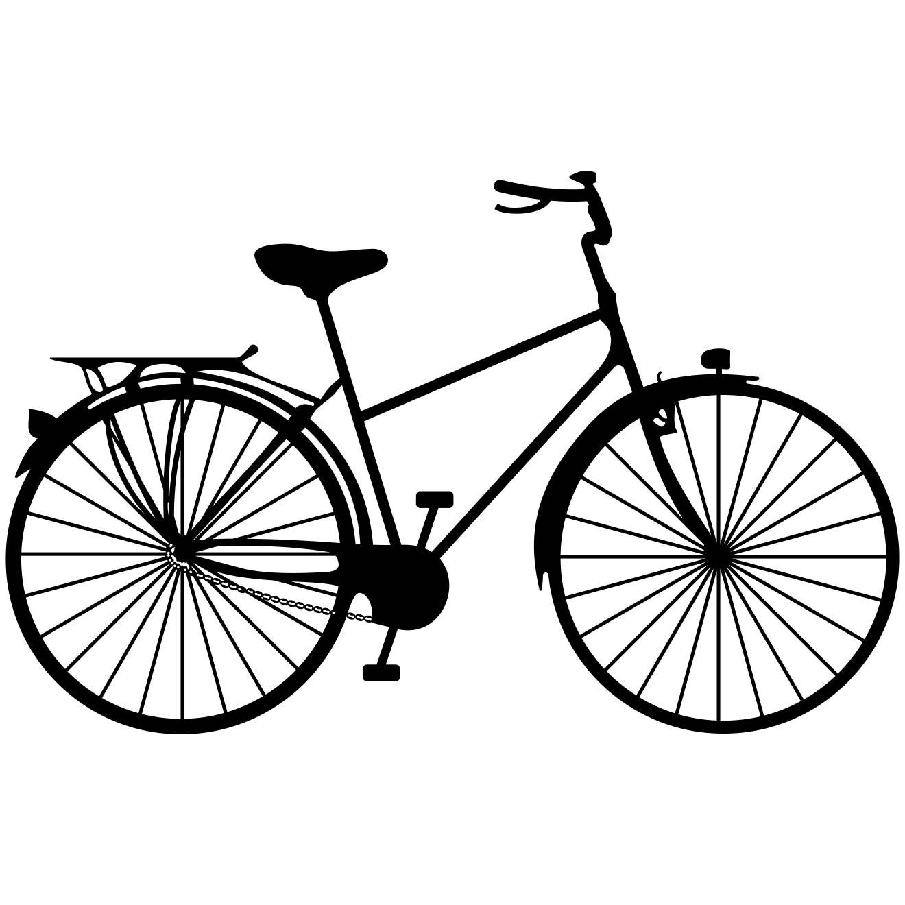 Bicycle Ride A Bike Graphics Svg Dxf Eps Cdr Ai