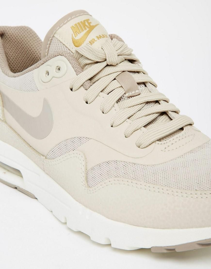 Shop Nike Air Max Essentials Beige Trainers at ASOS.